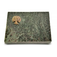 Grabtafel Tropical Green Pure Baum 3 (Bronze)