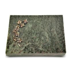 Grabtafel Tropical Green Pure Efeu (Bronze)