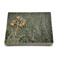 Grabtafel Tropical Green Pure Gingozweig 1 (Bronze)