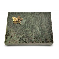 Grabtafel Tropical Green Pure Rose 3 (Bronze)