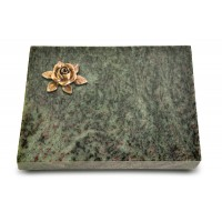 Grabtafel Tropical Green Pure Rose 4 (Bronze)