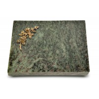 Grabtafel Tropical Green Pure Rose 5 (Bronze)