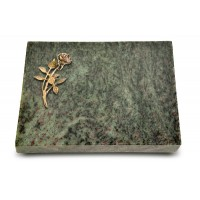 Grabtafel Tropical Green Pure Rose 6 (Bronze)