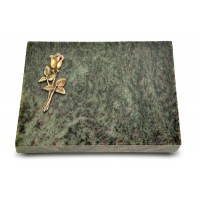 Grabtafel Tropical Green Pure Rose 8 (Bronze)