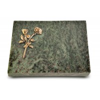 Grabtafel Tropical Green Pure Rose 10 (Bronze)