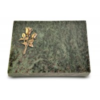 Grabtafel Tropical Green Pure Rose 11 (Bronze)