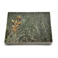 Grabtafel Tropical Green Pure Rose 13 (Bronze)