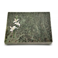 Grabtafel Tropical Green Pure Orchidee (Color)