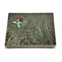 Grabtafel Tropical Green Pure Rose 2 (Color)