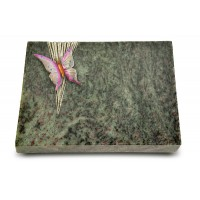 Grabtafel Tropical Green Delta Papillon 1 (Color)