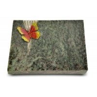Grabtafel Tropical Green Delta Papillon 2 (Color)