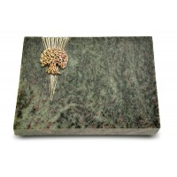 Grabtafel Tropical Green Delta Baum 3 (Bronze)
