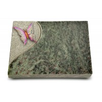 Grabtafel Tropical Green Folio Papillon 1 (Color)