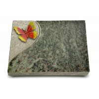 Grabtafel Tropical Green Folio Papillon 2 (Color)