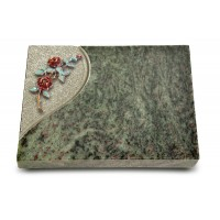 Grabtafel Tropical Green Folio Rose 3 (Color)