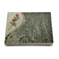 Grabtafel Tropical Green Folio Rose 6 (Color)