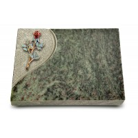 Grabtafel Tropical Green Folio Rose 7 (Color)