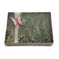 Grabtafel Tropical Green Strikt Papillon 1 (Color)