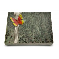Grabtafel Tropical Green Strikt Papillon 2 (Color)