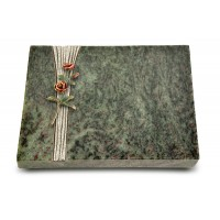 Grabtafel Tropical Green Strikt Rose 6 (Color)