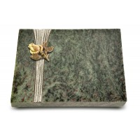 Grabtafel Tropical Green Strikt Rose 3 (Bronze)