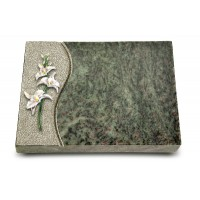 Grabtafel Tropical Green Wave Orchidee (Color)