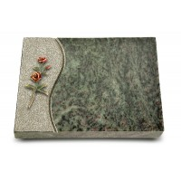Grabtafel Tropical Green Wave Rose 6 (Color)