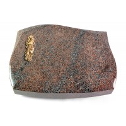 Galaxie/Paradiso Kreuz/Rose (Bronze)
