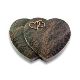 Amoureux/Aruba Herzen (Bronze)