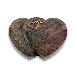 Amoureux/Paradiso Herzen (Bronze)