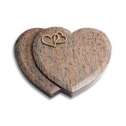 Amoureux/Rainbow Herzen (Bronze)