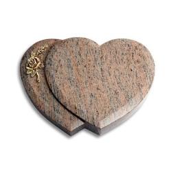 Amoureux/Rainbow Rose 1 (Bronze)