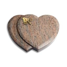 Amoureux/Rainbow Rose 3 (Bronze)