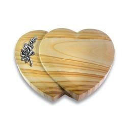 Amoureux/Raw-Silk Rose 1 (Alu)
