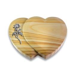 Amoureux/Raw-Silk Rose 2 (Alu)
