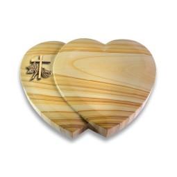 Amoureux/Raw-Silk Kreuz 1 (Bronze)