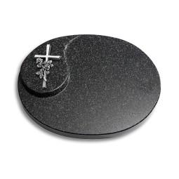 Yang/Indisch-Impala Kreuz/Ähren (Alu)