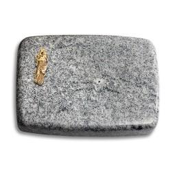 Linea/Viskont-White Kreuz/Rose (Bronze)