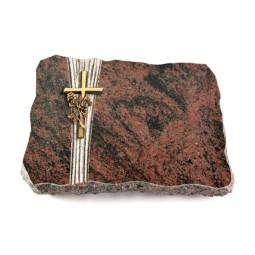 Aruba Strikt Kreuz/Ähren (Bronze)