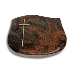 Cassiopeia/Indisch-Black Kreuz 2 (Bronze)