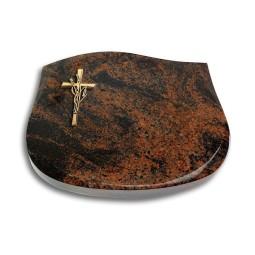 Cassiopeia/Indisch-Black Kreuz/Ähren (Bronze)