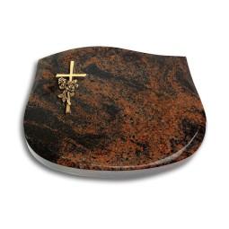 Cassiopeia/Indisch-Black Kreuz/Rose (Bronze)