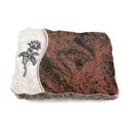 Aruba Wave Kreuz/Rose (Alu)