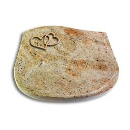 Cassiopeia/Indisch-Black Herzen (Bronze)