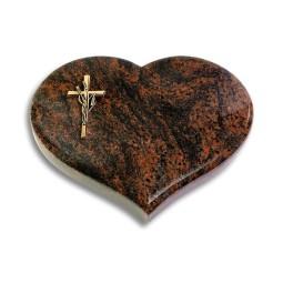 Coeur/Aruba Kreuz/Ähren (Bronze)