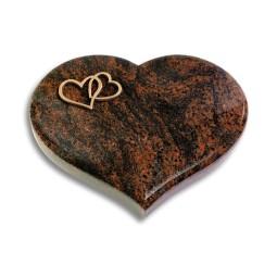 Coeur/Aruba Herzen (Bronze)