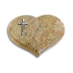 Coeur/Aruba Kreuz/Ähren (Alu)