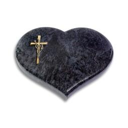 Coeur/Kashmir Kreuz/Ähren (Bronze)