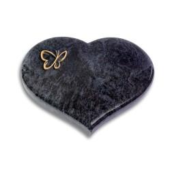 Coeur/Kashmir Papillon (Bronze)