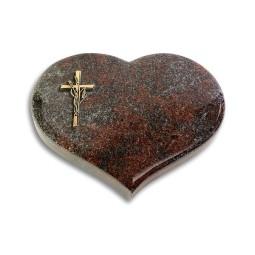 Coeur/Orion Kreuz/Ähren (Bronze)